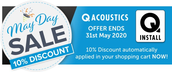 Q Install May Day Sale at Audio Volt