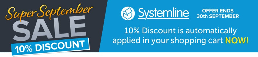 10% Off Systemline Audio Kits in our September Sale