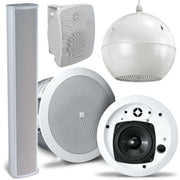 Large range of Background audio Speakers
