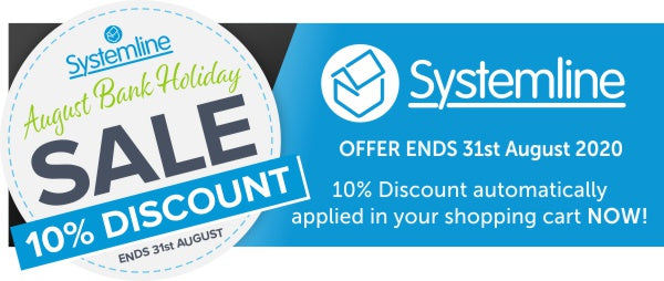 Systemline August 10% Off Sale now on Audio Volt
