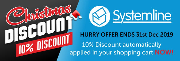 Systemline Christmas 10% Discount