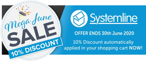 Systemline 10% Discount for the month of June at Audio Volt