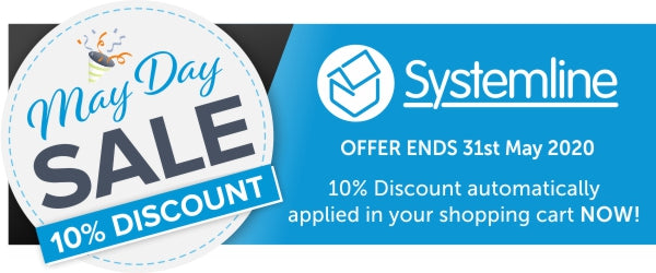 Systemline May Day 10% Sale at Audio Volt