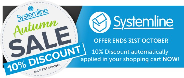 Systemline October sale now on at Audio Volt