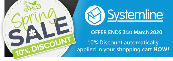 10% Spring Discount Sale on Systemline Audio Kits