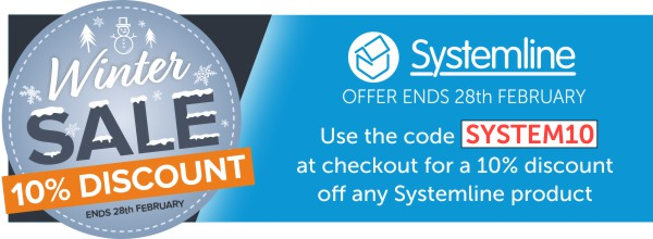 Systemline Winter Sale now on at Audio Volt save 10% Today