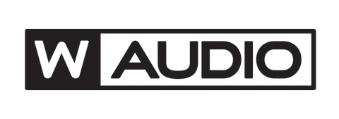 W-Audio Brand Logo