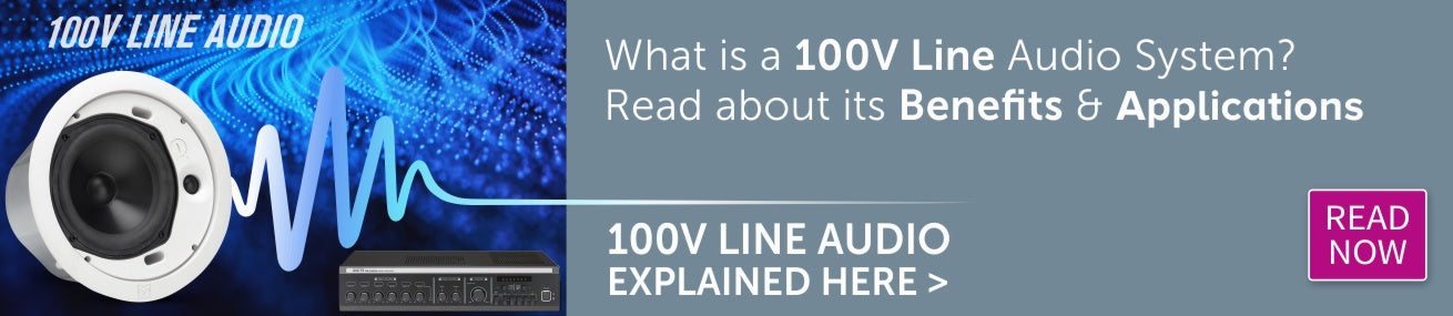 What is a 100V Line System