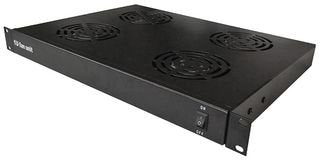 "Rack Mount Cooling Fans for 19"" Rack Cabinets - 2 or 4 fans"