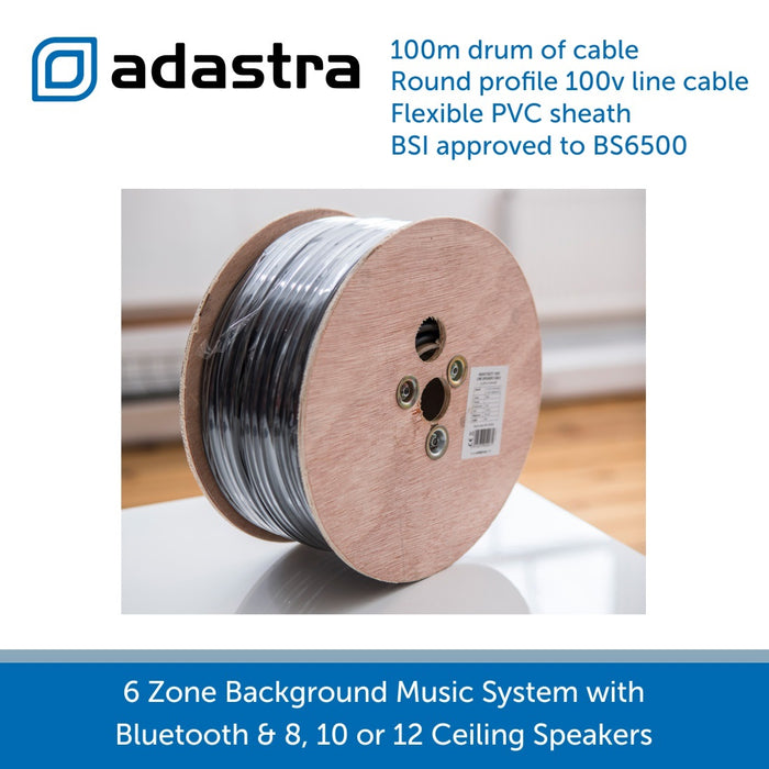100m Drum of double insulated speaker cable