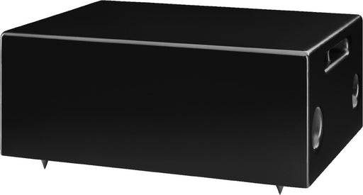 Monacor ESUB-6W Compact Wall-Mount Subwoofer, 100V & 4 Ohms (Black or White)