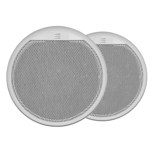 "Pair of Apart CMAR5 5"" Two-Way Waterproof Ceiling Speakers in White"