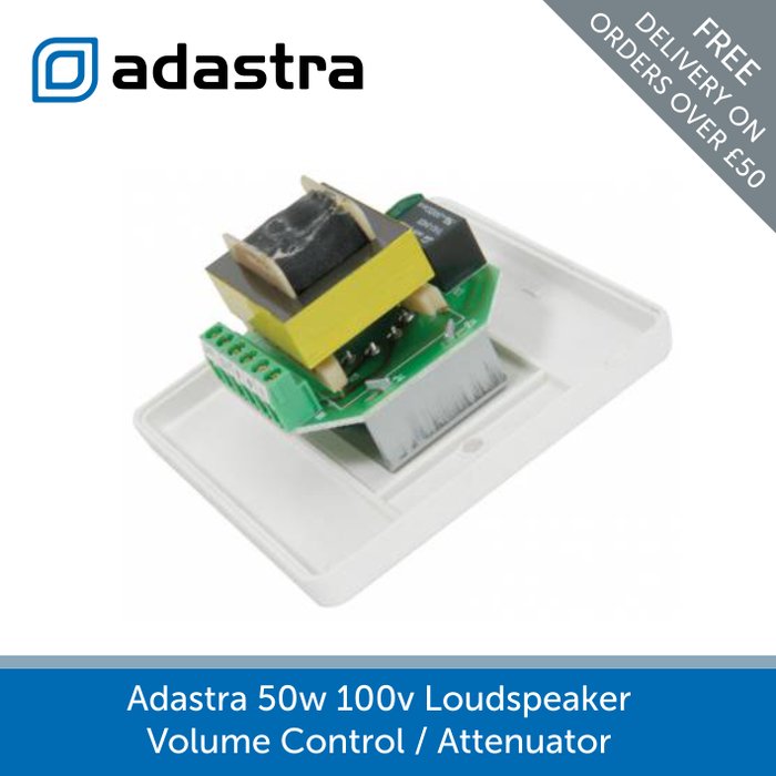 Showing the inside of a Adastra 100v 50w Loudspeaker Volume Control / Attenuator