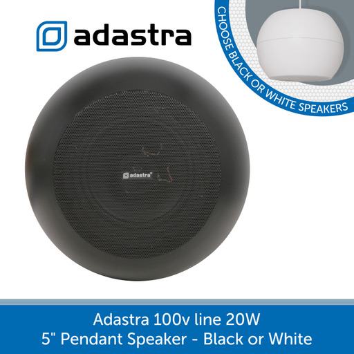 "View of grill for Adastra 100v line 5"" Pendant Speaker"