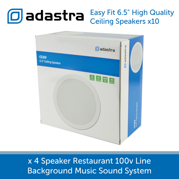 "Box for Adastra CC6V Premium 6.5"" 50w 100v Ceiling Speaker"
