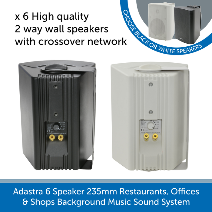 High quality 2 way wall speakers by Adastra