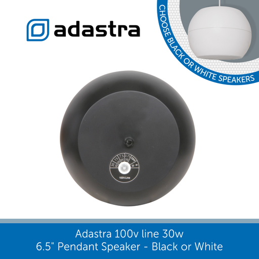 "showing the back of a Adastra Pendant Speaker 6.5"" 30w"