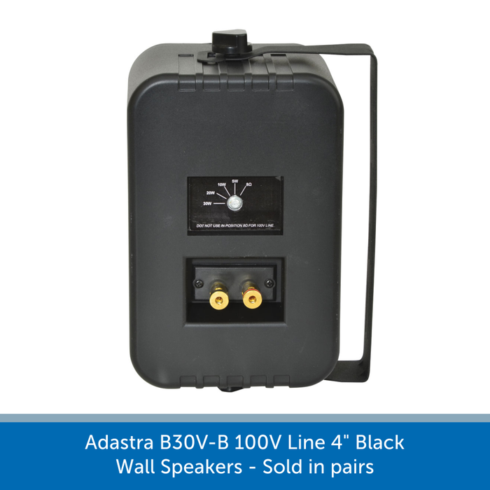 Showing the back of a Adastra B30V-B
