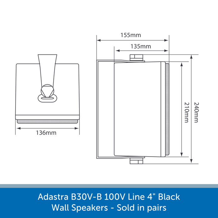 Diagram for a Adastra B30V-B