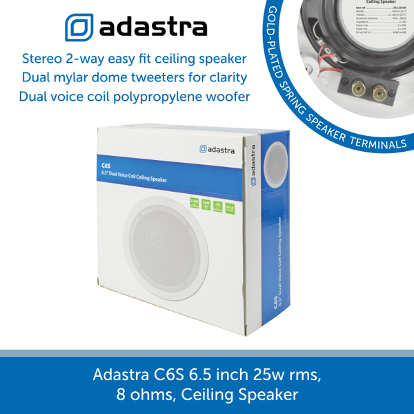 A box for a Adastra C6S Ceiling Speaker