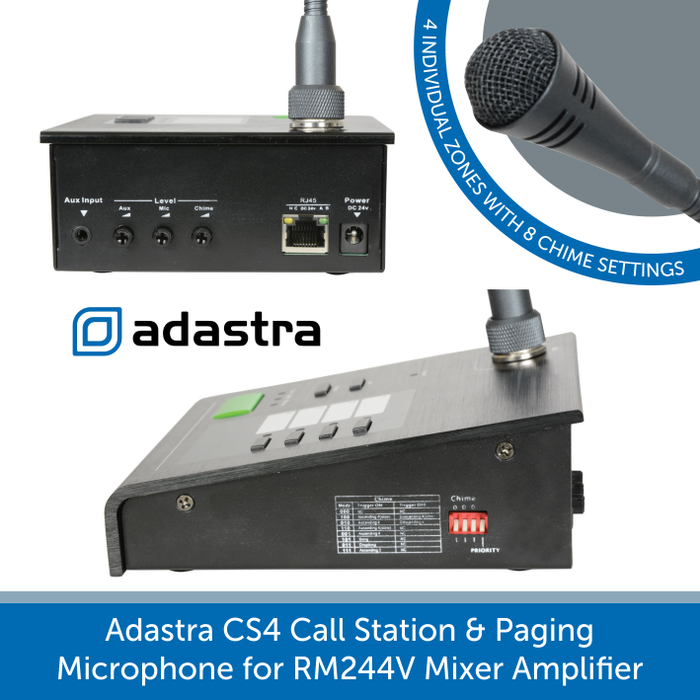 Showing the base of a adastra CS4 call station