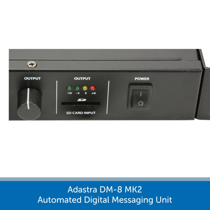 Adastra DM-8 MK2 Automated Digital Messaging Unit