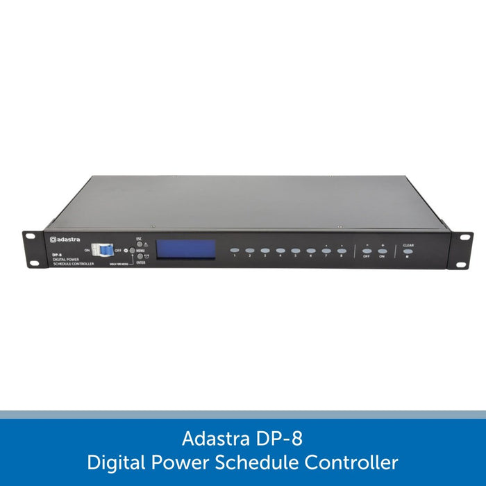 Adastra DP-8 Digital Power Schedule Controller