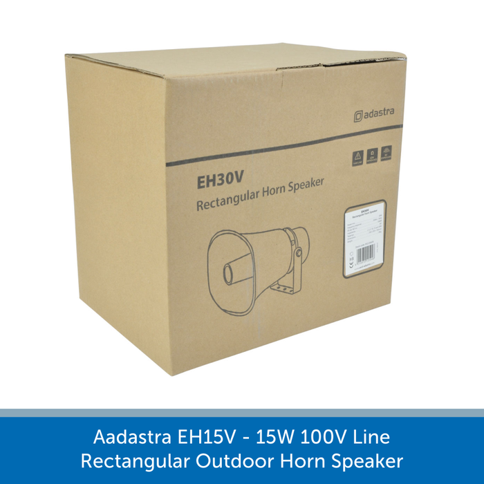 A box for a Adastra EH15V