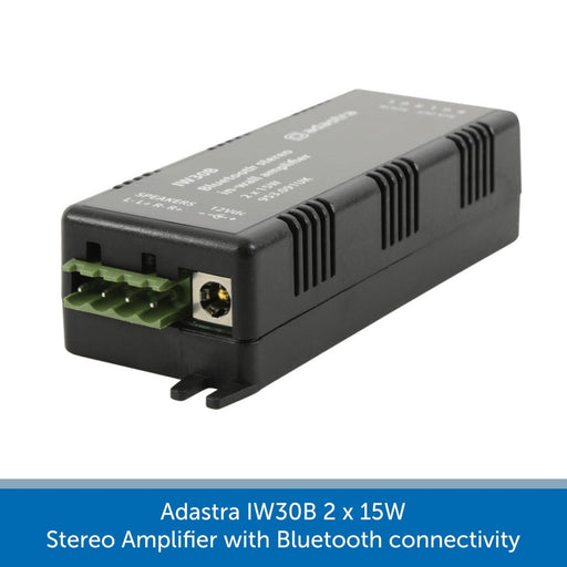 Adastra IW30B 2 x 15W Stereo Amplifier with Bluetooth connectivity