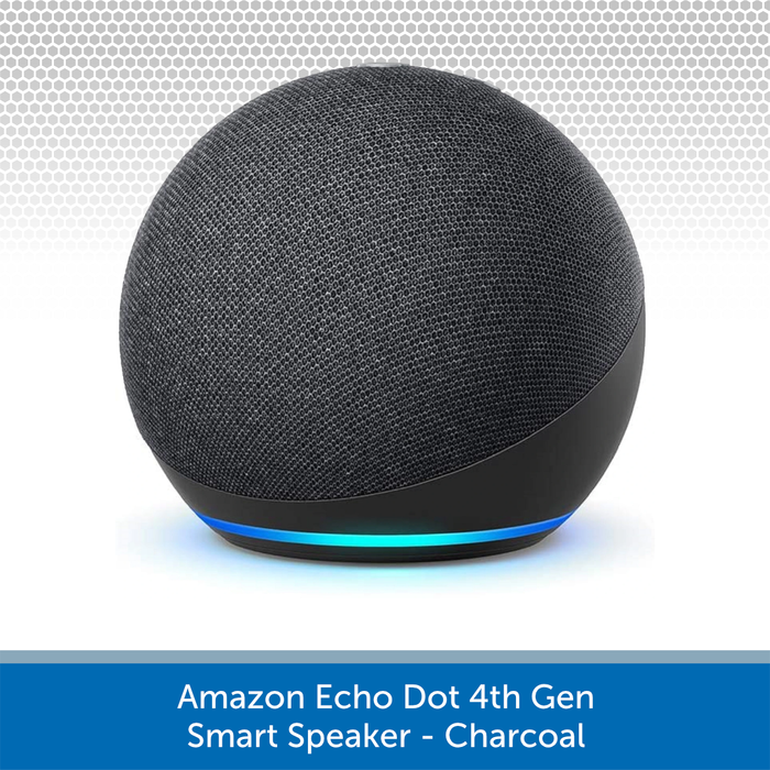 Amazon Echo Dot 4th Gen Smart Speaker - Charcoal