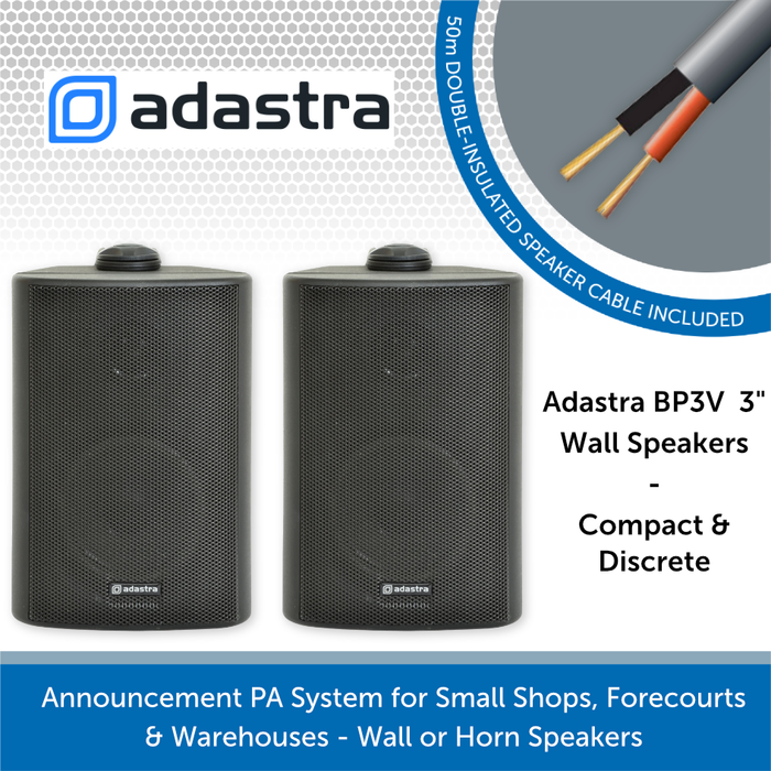 Adastra BP3V Black