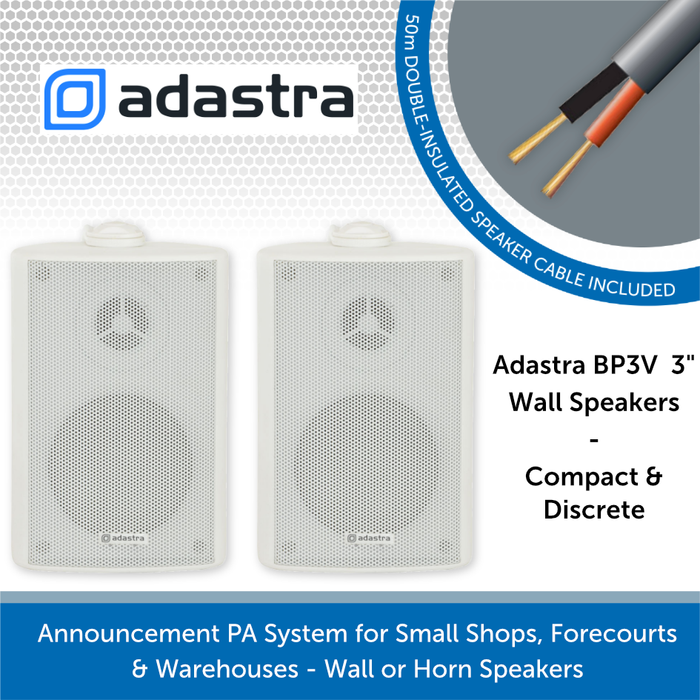 Adastra BP3V White