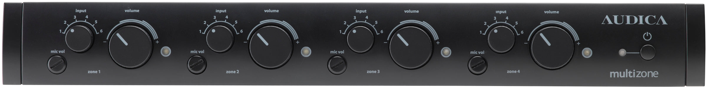 Audica MULTIzone 4-Zone Stereo Mixer