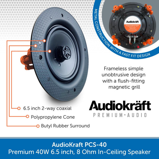 Audiokraft PCS-40