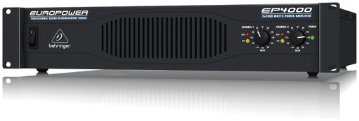 Behringer EP4000 Power Amplifier stable down to 2 Ohms, rack-mountable and German engineered