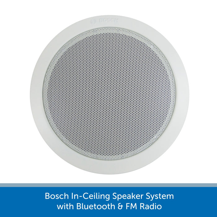 Bosch In-Ceiling Speaker System with Bluetooth & FM Radio