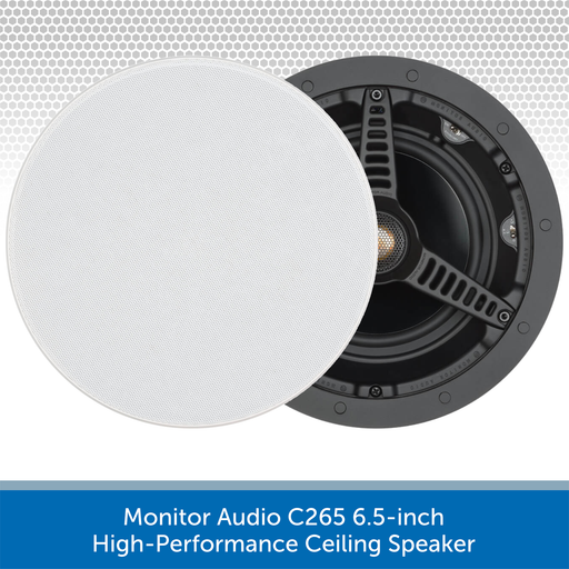 Monitor Audio C265 6.5-inch High-Performance Ceiling Speaker