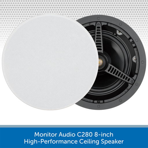 Monitor Audio C280 8-inch High-Performance Ceiling Speaker