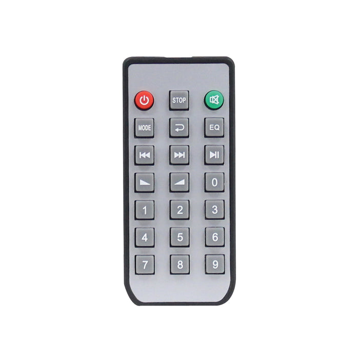 Image of the IR Remote Control supplied with the Clever Acoustics MA 350Z6