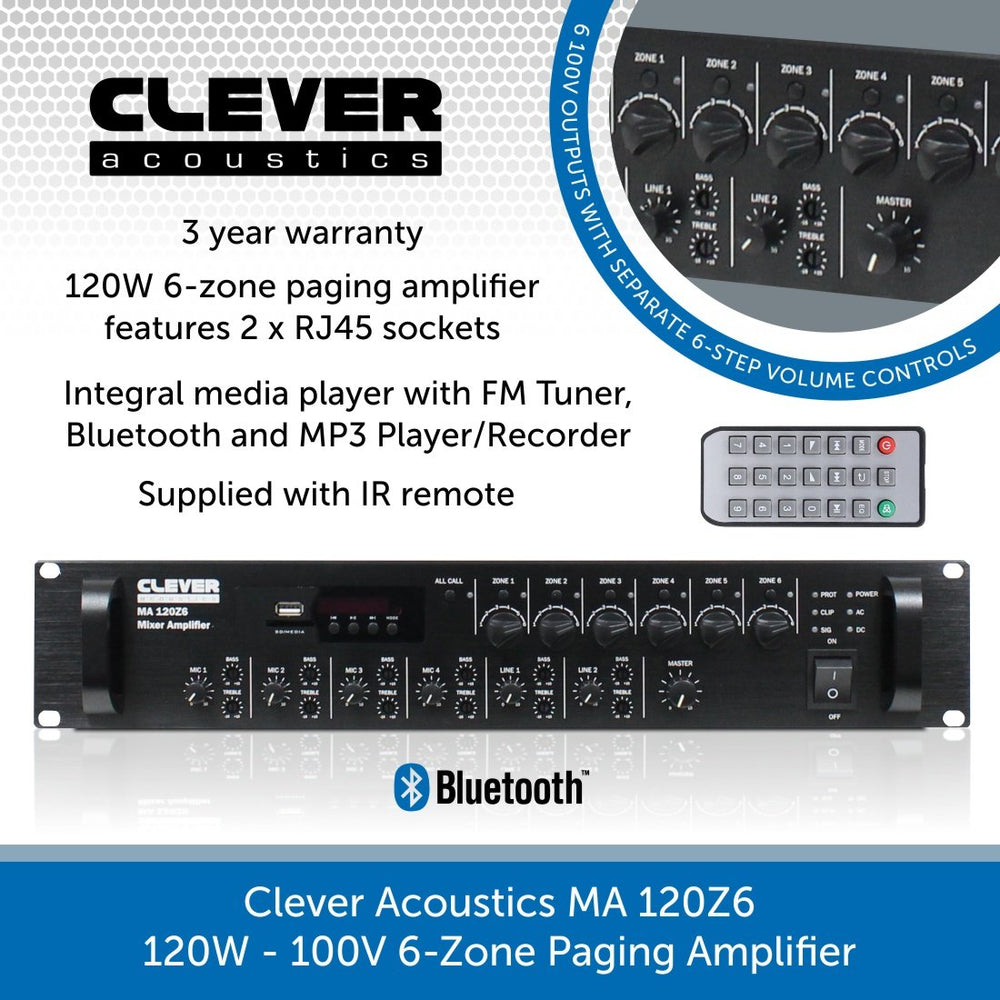 Clever Acoustics MA 120Z6