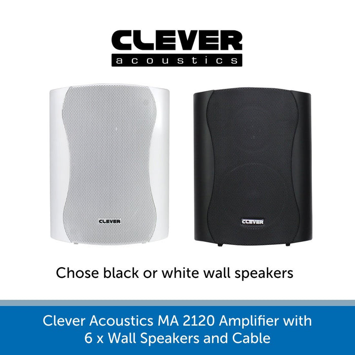 Clever Acoustics wall Speakers