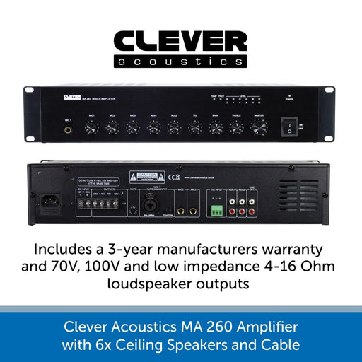 Clever Acoustics MA 260 Amplifier