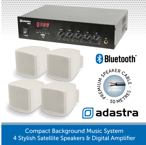 Compact Adastra System perfect for cafes, shops