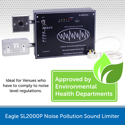 Eagle SL2000P Noise Pollution Sound Limiter