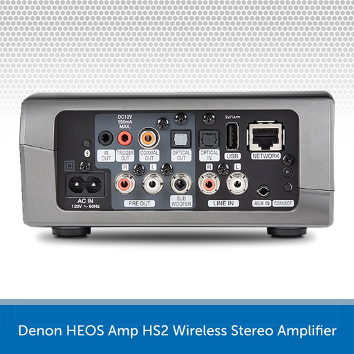 Denon HEOS Link HS2 Wireless Pre-Amplifier REAR