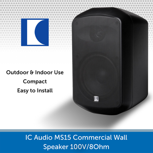 IC Audio MS15 Wall Speaker