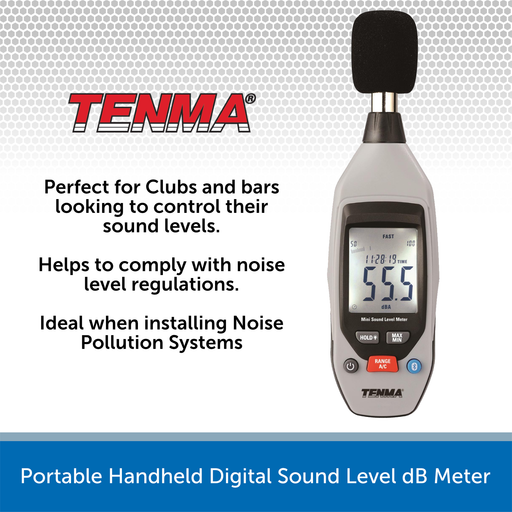 Portable Handheld Digital Sound Level dB Meter