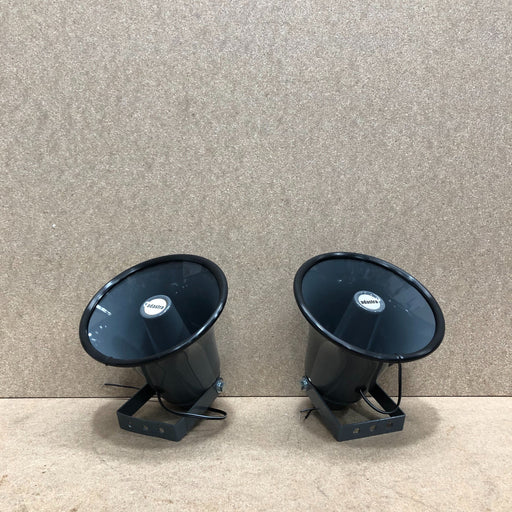 Adastra 15W 8ohm Weatherproof Horn Speaker 2 pack (Clearance)