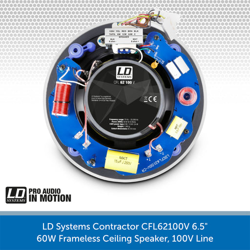 LD Systems Contractor CFL 62 100 V Rear
