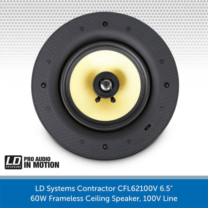 LD Systems Contractor CFL 62 100 V Speaker without Grille